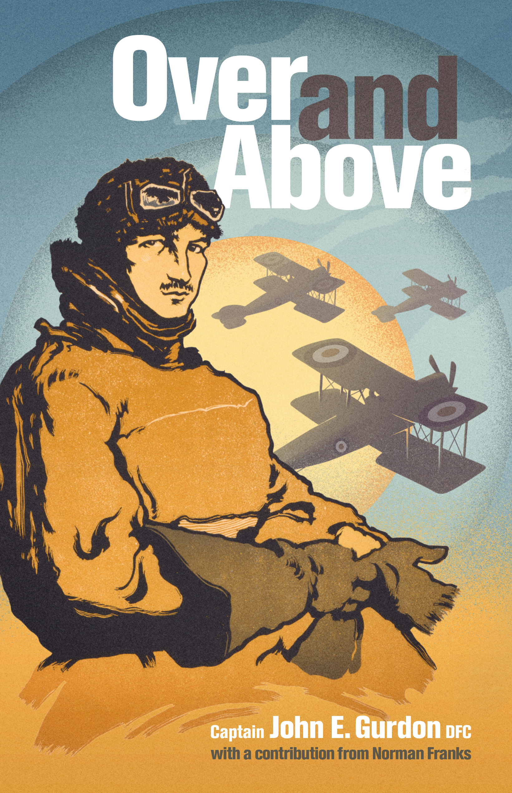 Duxford Launch of 'Over and Above'